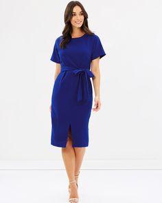 Ingrid Tie Waist Dress