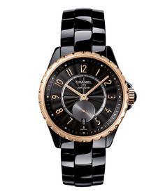 La montre J12-365 de Chanel Horlogerie http://www.vogue.fr/joaillerie/le-bijou-du-jour/diaporama/la-montre-j12-365-de-chanel-horlogerie/18514#!2