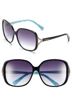 c37231eb10 Women s Lilly Pulitzer  Westport  60mm Sunglasses - Black Black Sunglasses