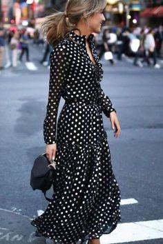 Women Black Plus Size Vintage Bohemia Vacation Maxi Dress Mode Outfits, Dress Outfits, Fashion Outfits, Fashion Clothes, Style Clothes, Lovely Dresses, Trendy Dresses, Awesome Dresses, Black Women Fashion