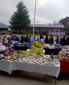 Celebrating Mandela Day by collecting clothes and food for disadvantaged people. Picture: Mornette Swanepoel/iWitness