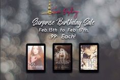 BIRTHDAY SALE! All $.99 from the 15th to the 17th!  AJs Salvation  What are you willing to give up to save your only son?http://ift.tt/2lkeaOK  Tagged For Life Can The One be a girl on holiday only destinied to be there for three weeks?http://ift.tt/2kyHfln  Call Me Michigan If you let a cowboy go youll lose him forever  or not?http://ift.tt/2lkjoKw