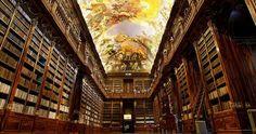 Prague's Strahov Monastery library.