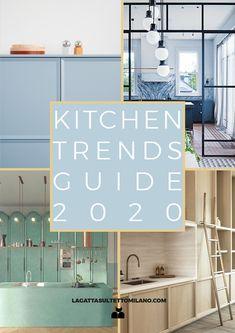 - Interior Decor and Designing Latest Kitchen Trends, Kitchen Color Trends, 2019 Kitchen Trends, Casa Loft, Home Decor Trends, Architecture, Family Kitchen, Pantone, Design Trends