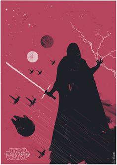 Star Wars: Episode VII: The Force Awakens - movie poster - Ben McLeod