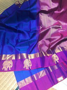 Indian Silk Sarees, Soft Silk Sarees, Indian Beauty Saree, Phulkari Saree, Silk Saree Kanchipuram, Wedding Silk Saree, Blue Saree, Saree Shopping, Elegant Saree