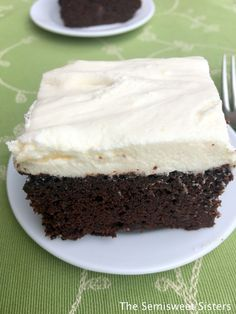 Double Chocolate Banana Cake with Cream Cheese Frosting