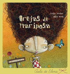 """OREJAS DE MARIPOSA del Proyecto """"Cuéntame un cuento"""" en el blog Aula de Elena."""