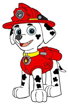 marshall paw patrol buscar con google paw patrol coloring pagespaw - Marshall Paw Patrol Coloring Page