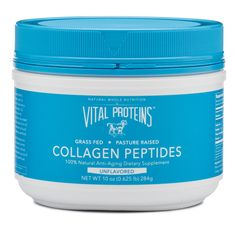 Vital Proteins Pasture-Raised Collagen Peptides, All Natural Anti-Aging Drink Powder Dietary Supplement
