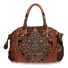 Love this! Steampunk style everyday bag.