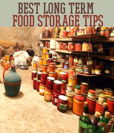 Best Long Term Food Storage Tips | Survival Life