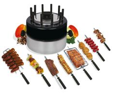 Grillex Indoor Brazilian Portable Barbecue Grill. Brings the taste of outdoor cooking indoors. Great gift idea for Mother's Day.