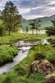 Blea Tarn is located south of Langdale Fell in England's Lake District. It's a lovely place to explore! Photo by Jim Monk on Flickr.