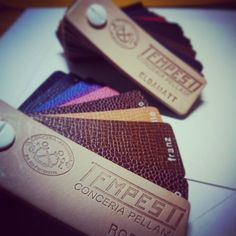 [ sample ]  #leather #leathercraft #leatherwork #tempesti #elbamatt #sample #TherapyDrop by therapy_drop