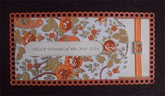 Ref MISA Orange ( We can do any colour) www.weddingcards.co.za