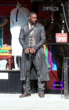 The Dark Tower Movie | On Set Photos Of Idris Elba In Ron Howard's Dark Tower - blackfilm.com ...
