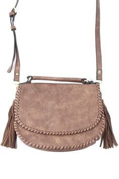 Chocolate Liana Bag by Moda Luxe now available at Rosie True!