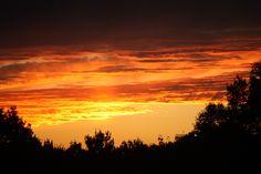 Sunset over Glastonbury CT