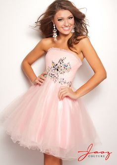 pretty in pink.  This dress would be perfect for #graduation #batmitzvah #party or any special occasion!  Created by Jasz 4716 $298 <3