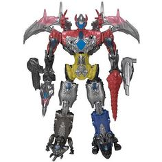 9ce43b079b Mighty Morphin Power Rangers Movie Megazord Complete Set Action Figure