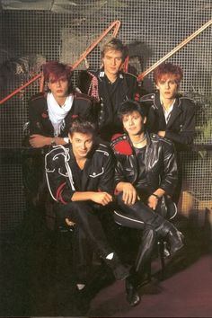 Duran Duran, just the outfits alone should make you smile!