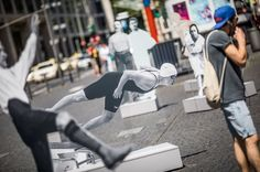 Frankfurt am Main: Darstellungen jüdischer Sportidole zerstört - SPIEGEL ONLINE - Panorama