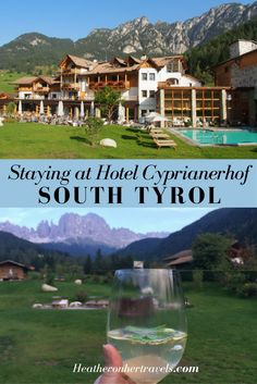 Hotel Cyprianerhof is luxurious 4 star hotel in the Dolomites, St Cyprian, South Tyrol, Italy with extensive facilities for wellness and activity excursions. Luxury Travel, Luxury Hotels, Italy Travel Tips, South Tyrol, Travel Reviews, Solo Travel, Places To See, Travel Inspiration, Traveling By Yourself
