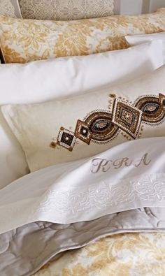 A masterful assemblage of fabrics, textures, and embellishments characterize our Capara Bedding Collection. Casual elegance is conveyed via light hues and soft linens.