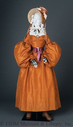 Day Dress  1836-1837  The FIDM Museum