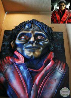 Michael Jackson Thriller birthday cake