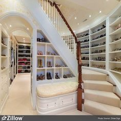OMG.. 2 story closet..if only