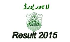 online  bise lahore matric result 2015
