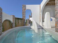 Outdoor Architecture Aloni Hotel, Paros2018 - 2019PrivateWork in progress2145 m2 Hotel Architecture, Architecture Design, Spa Design, Modern Design, Paros, Reception Entrance, Entrance Design, Pool Bar, Alone