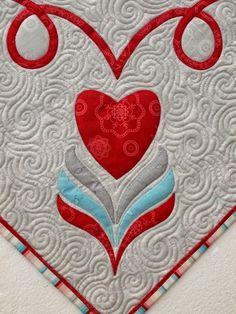 detail, Grand Coeur by Sampaguita Quilts