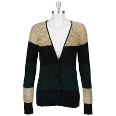 Free People Women's Contemporary Renoir Mix Yarn Color Block Lake Tahoe Cardi #VonMaur