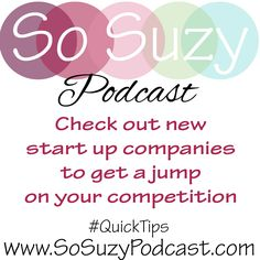 QuickTip: If you use stamps from new companies, your cards will be more unique than your competition and will be new, fresh and exciting!!   http://www.sosuzypodcast.com/2017/02/niche-market-by-brand.html