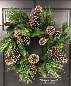 28 Magnolia and Pine Cone Wreath Pine Cone Art, Pine Cone Crafts, Wreath Crafts, Diy Wreath, Pine Cone Wreath, Holiday Wreaths, Holiday Crafts, Fall Crafts, Pine Cones For Sale