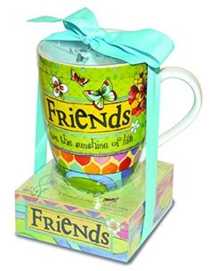 Friends the Sunshine of Life 12 ounce Ceramic Mug and Paper Note Stack Gift Set ** Check out this great product.