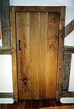 Oak Cottage Door with Iron Suffolk Latch //.priorsrec.co & Suffolk Latch Rear http://www.priorsrec.co.uk/door-furniture ...