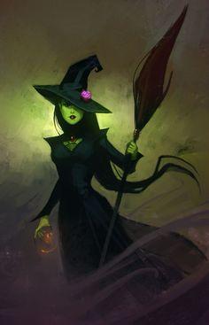 Imagini pentru evil witch drawing