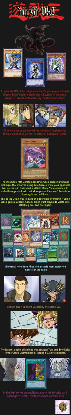 Yugioh Facts 10 // tags: funny pictures - funny photos - funny images - funny pics - funny quotes - #lol #humor #funnypictures