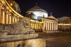 NAPLES - Italy - Piazza del Plebiscito