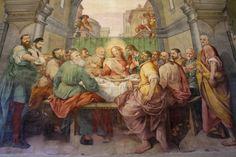 Bernardino Poccetti - Ultima cena - Refettorio Convento - Chiesa di Santo Spirito - Firenze