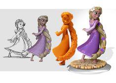 Disney Infinity - Rapunzel Design Process