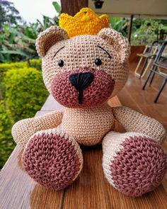 urso tema | Urso de crochê, Bichinhos de croche, Amigurumi de ... | 295x236