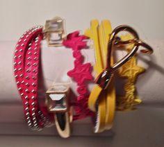 Florida State University SEMINOLE Arm candy bracelet set on Etsy, $45.00