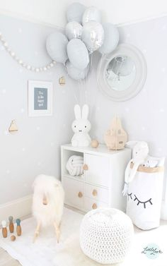 All-White Kids' Rooms - by Kids Interiors