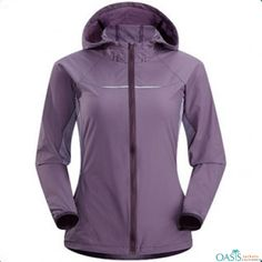 Wind breaker mauve ladies jacket