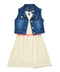 A Denim Skirt Adds Timeless Carefree Look To This Girly Tank Dress Make